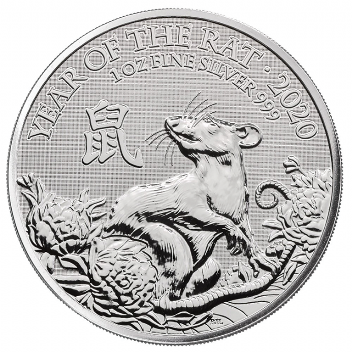 2020 Silver 1oz Year of the Rat